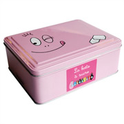 Barbapapa container for sugar cubes