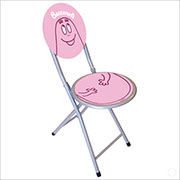Barbapapa folding chair