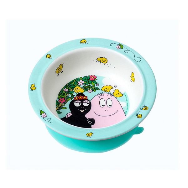 Barbapapa suction bowl spring