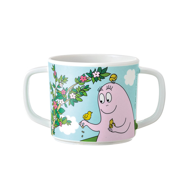 Barbapapa cup with two handles spring