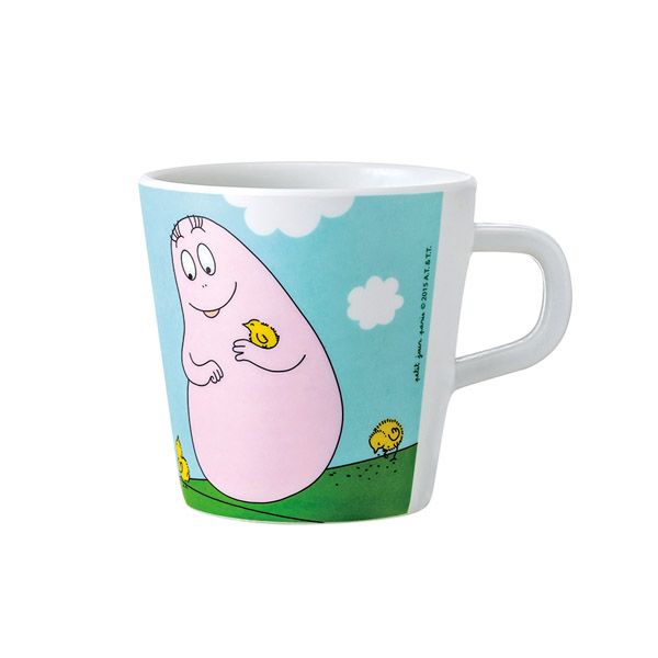 Barbapapa mug spring