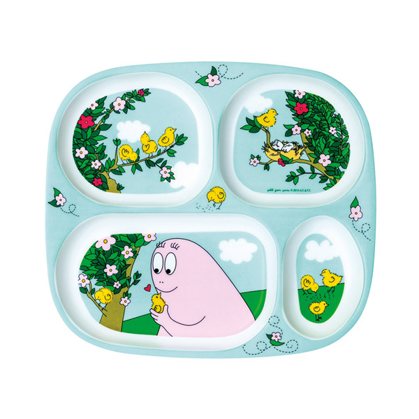 Barbapapa section plate spring