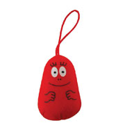 Barbapapa mobile phone dangler Barbabravo red
