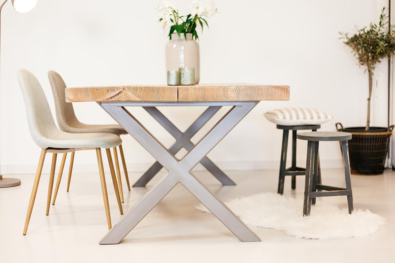 Grote Houten Tafels : Houten tafel op maat gezellig 200cm zware tafels tip