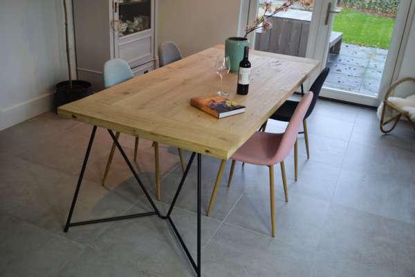 Rockwood® tafel op maat specialist in douglas tafels & eiken eettafels