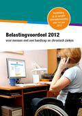 Belastingvoordeel 2012 voor mensen met een handicap of chronisch zieken (2013)