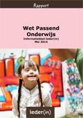 Informatieblad Passend onderwijs (2014)