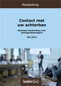 Handreiking Contact met uw achterban (2014)