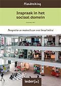 Handreiking Inspraak in het sociaal domein (herdruk) (2017)
