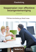 Handreiking Stappenplan voor effectieve belangenbehartiging (2014)