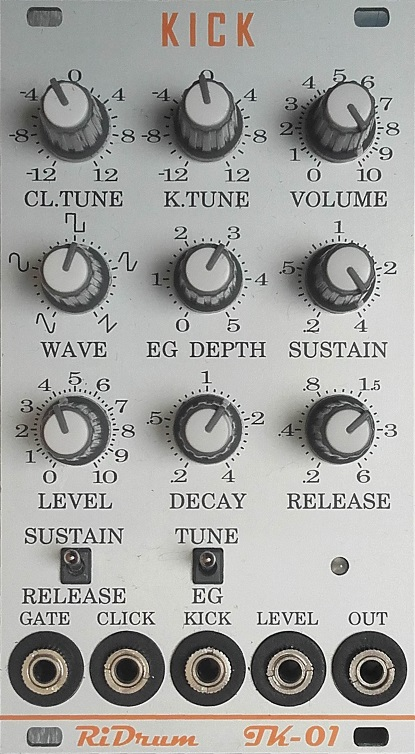 RiDrum Modulair Drum Synthesizer Modules