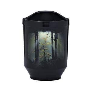 """Design urn """"Bos bij Nacht"""""""