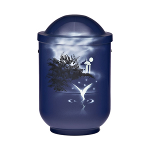 "Design urn ""Watervogel"""
