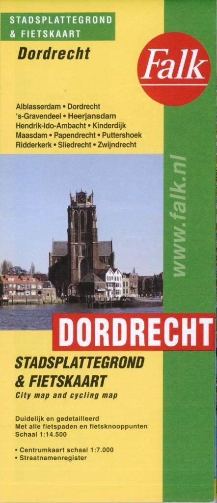 Plattegrond Dordrecht en omstreken