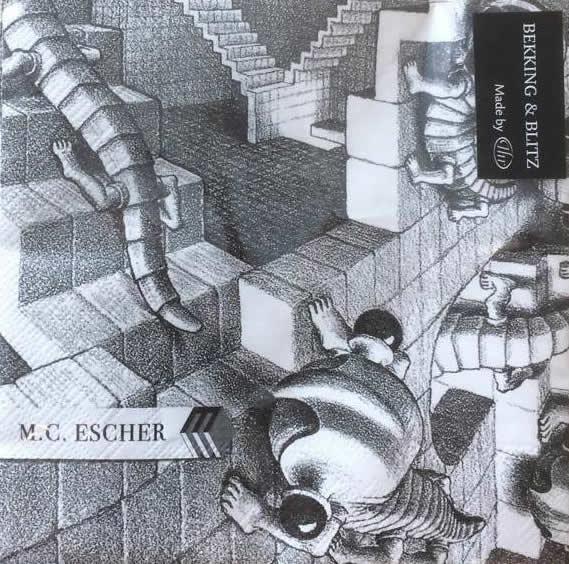 Servetten M.C. Escher