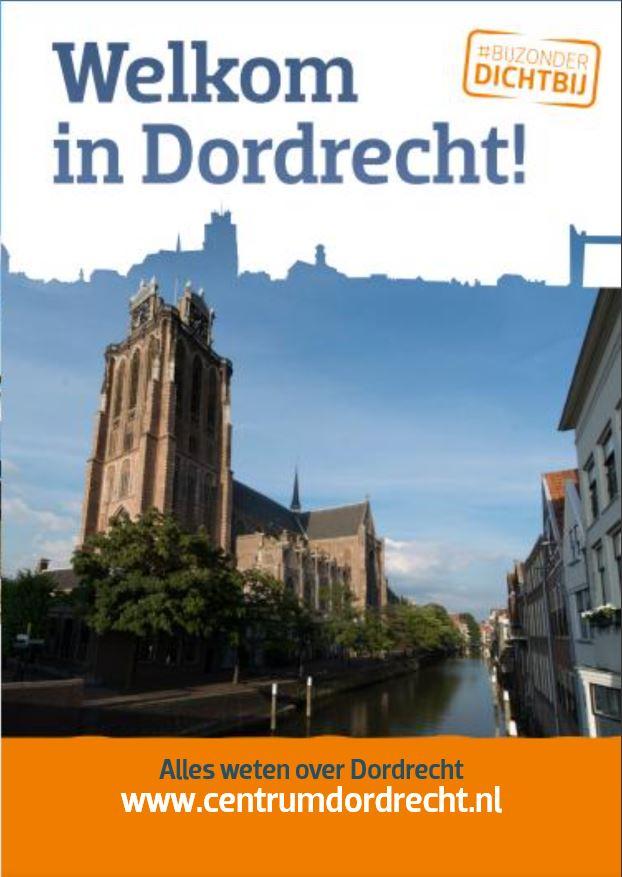 Plattegrond Binnenstad Dordrecht