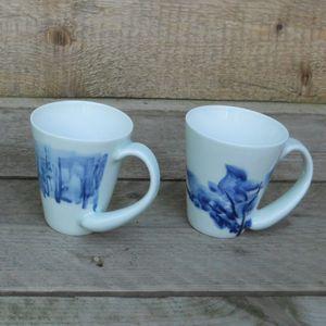 Blue Shanghai White <br />China Blue mok</p>
