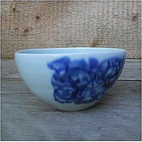 Blue Shanghai White <br />China Blue kommetje</p>