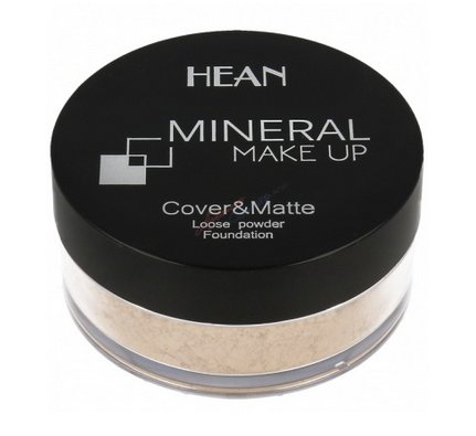 HEAN minerale powder cover matte naturel
