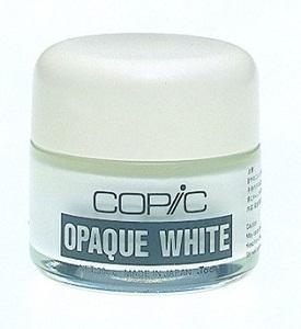 Copic opaque white potje