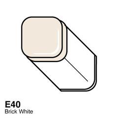 E40 Brick White