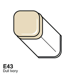 E43 Dull Ivory