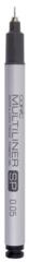 0,05 mm marker