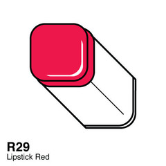 R29 Lipstick Red