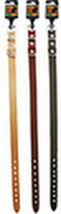 Leren halsband 40 cm x 16 mm