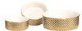 Eetbak prestige goud/wit