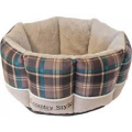 """Boony mand 8-hoek """"Country Style'' grijs"""