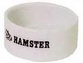 Hamstervoerbakje wit.