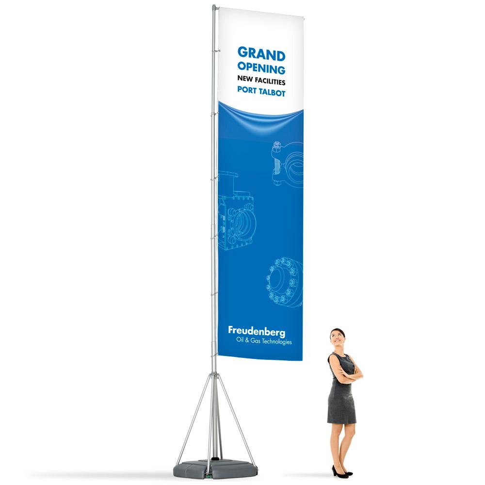 Megaflag - 5 meter