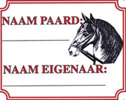 Naam paard/eigen