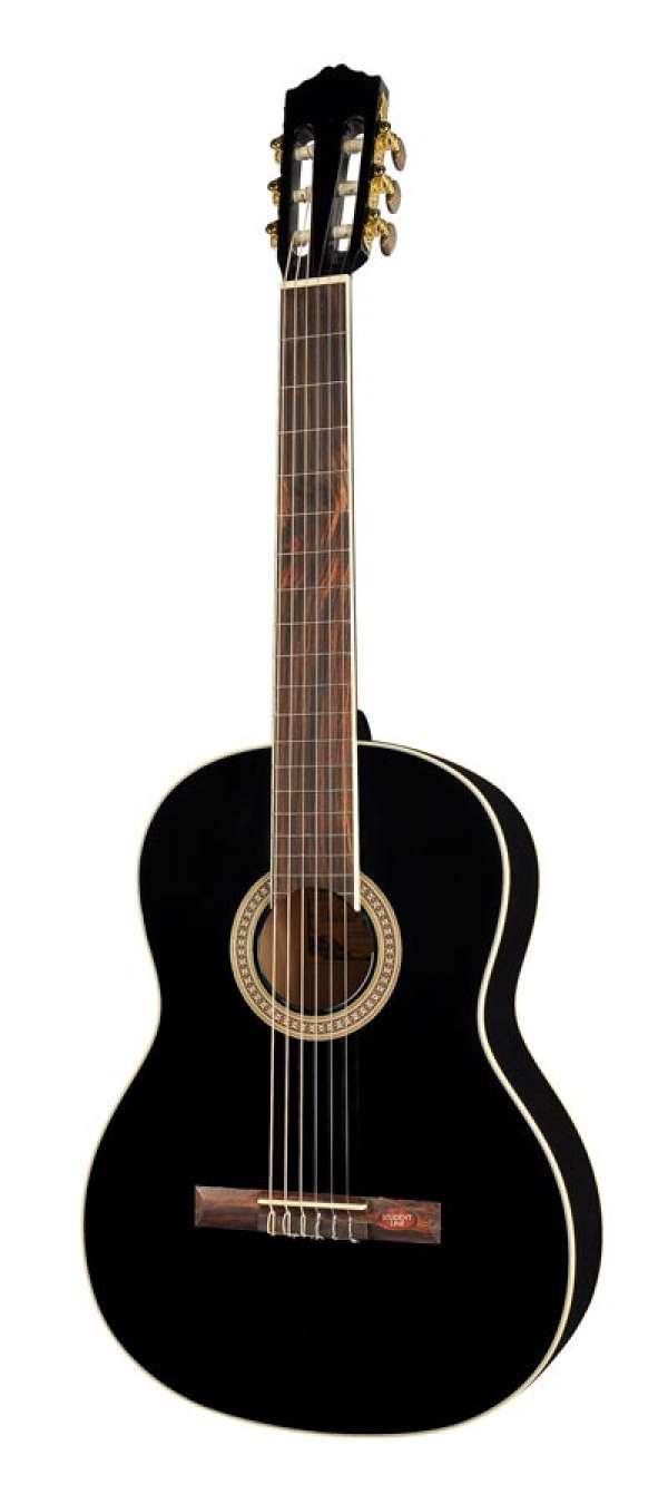 Salvador Cortez CC10BK Klassieke gitaar Black