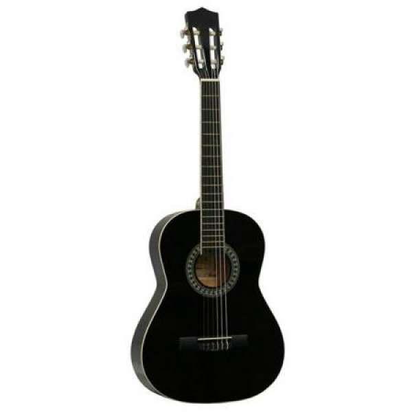 Gomez 036 3/4-model klassieke gitaar zwart