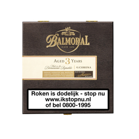 Balmoral Aged 3 Years  Corona