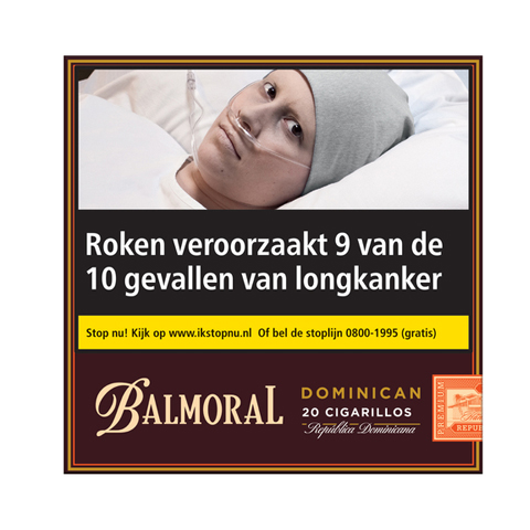 Balmoral Dominican cigarillos