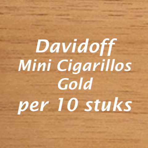 Davidoff mini gold cigarillos