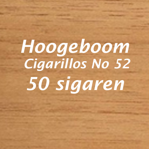 Hoogeboom Cigarillos No 52