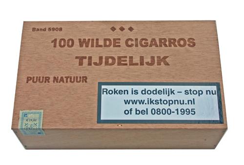 Hoogeboom100 wilde cigarros tijdelijk