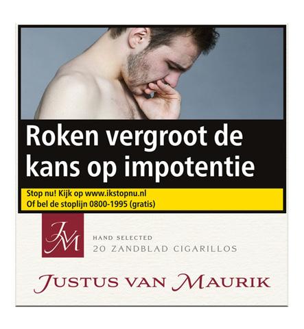 Justus van Maurik zandblad cigarillos