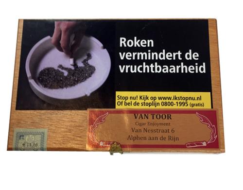 van Toor 100% cigarillos HBno1