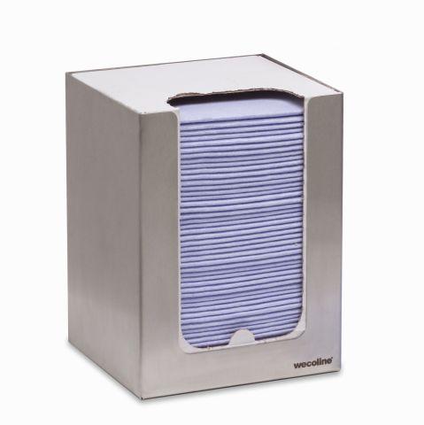 RVS dispenser non woven doeken