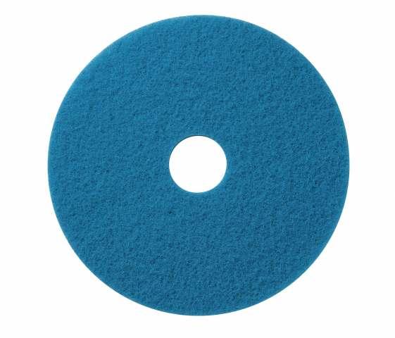 Scrub pad blue cleaner