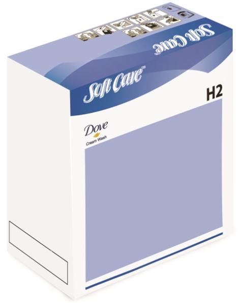 Soft Care Dove Cream Wash H2