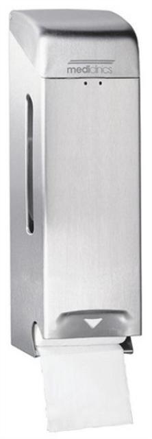 Toiletroldispenser RVS rollen mat 13318