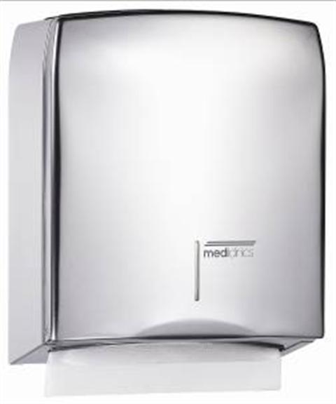 Handdoek dispenser RVS mat 12822