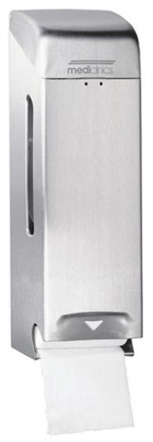 Toiletroldispenser RVS rollen mat 13218