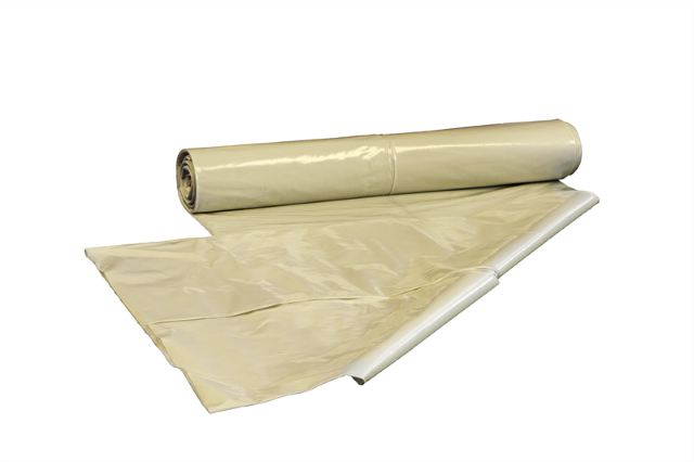 Witte PE zak, 90x120cm, LDPE/100mu